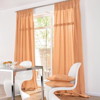 """Vorhang """"Shantung"""", 1 Vorhang Die Optik erlesener Shantung-Seide.  Aber lichtunempfindlich und pflegeleicht."""