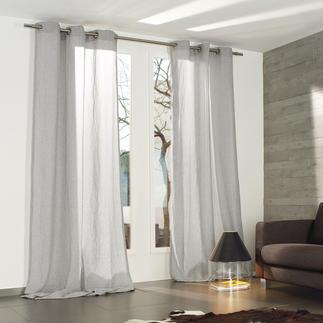 Vorhang Tramontana - 1 Stück Wollig, matt, edel und charakteristisch meliert: Mehrfach schattiert gefärbte Wolle.