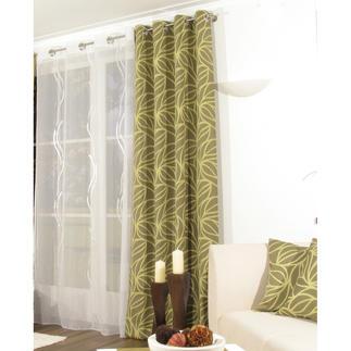 """Vorhang """"Lori"""", 1 Vorhang Gewebte Struktur – sehen, fühlen, geniessen."""