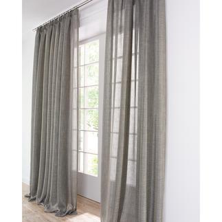 """Vorhang """"Clio"""", 1 Vorhang Aussergewöhnlich duftiges Doppelgewebe mit raffinierter Struktur."""