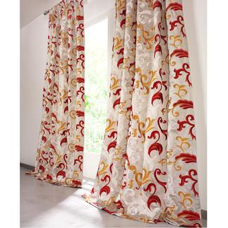 """Vorhang """"Silana"""", 1 Vorhang Alltagstauglicher Luxus: Baumwolle mit Seide."""
