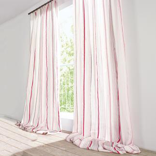 """Vorhang """"Peyron"""", 1 Vorhang Perfekt abgestimmt: Der Streifen zum Schmetterling."""