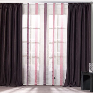 """Vorhang """"Wrinkel"""", 1 Vorhang Dezente Farbe – Aufsehen erregende Struktur. Das voluminöse Crash-Gewebe von Joop!"""