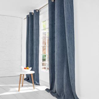 """Vorhang """"Stonewash"""", 1 Vorhang Die lässige Optik verwaschenen Denims. Authentisch stonewashed."""