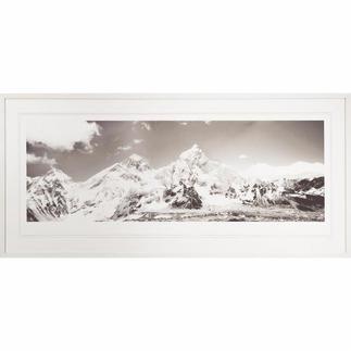 Koshi Takagi – Himalaya Fotorealistische Bleistiftzeichnung mit über 1 Million handgemalten Strichen. Erste Edition des mehrfach ausgezeichneten jap. Künstlers Koshi Takagi. 30 Exemplare. Masse: gerahmt 140,5 x 65 cm