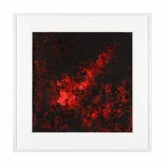 Prof. Benno Werth – Flammen der Leidenschaft Exklusiv für Pro-Idee: Prof. Benno Werth editiert erstmals zwei seiner Werke auf Papier und übermalt jedes von Hand. Je 30 Exemplare.