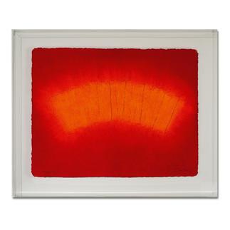 André Schweers – Cresté Im charakteristischen Papiergussverfahren handgefertigt. 12 Exemplare in Acrylrahmung. Masse: 78 x 63 cm