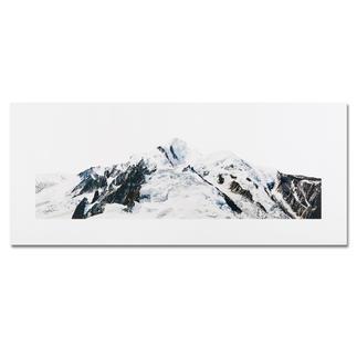Georg Küttinger – Mont Blanc Der Komponist unter den Fotokünstlern: Georg Küttingers Landschaftsbilder – erstmals als Edition. 20 Exemplare auf DIBOND®. Masse: 130 x 55 cm
