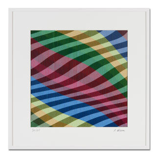 Antonio Marra – Mir schwirrt der Pinsel II Dank hoch entwickelter Reproduktionstechnik wird die Dreidimensionalität seines Originals 1:1 wiedergegeben. 50 Exemplare. Exklusiv bei Pro-Idee. Masse: gerahmt 70 x 70 cm