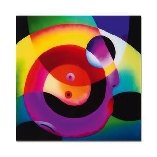 R. O. Schabbach – Circle of Love Besitzer eines Schabbachs in allerbester Gesellschaft. Zweite Edition auf Acrylglas (die erste ist bereits ausverkauft). Nur 30 Exemplare. Masse: 40 x 40 cm
