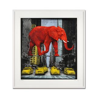 "Lars Tunebo: ""High in New York"" Lars Tunebos handcolorierte Unikatserie. Exklusiv bei Pro-Idee. 99 Exemplare."