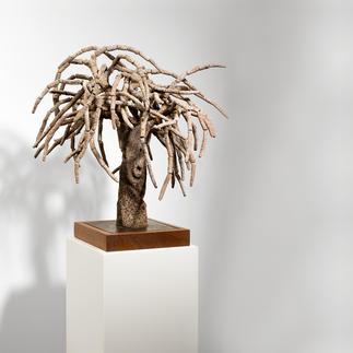 "Andreu Maimó: ""el árbol"" Ein kulturelles Wahrzeichen Mallorcas – von Hand aus Ton gefertigt. Erste Unikatserie des Mallorquiners Andreu Maimó. 16 Exemplare."