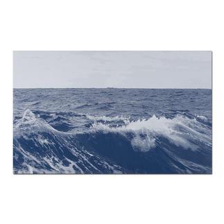 Sonja Weber – Meereshorizont Gewebte Atlantikwellen: Wann wird diese Kunst in Museen erscheinen? Aufwändig gewebt. Nur 12 Unikate – exklusiv bei Pro-Idee. Masse: 110 x 68 cm