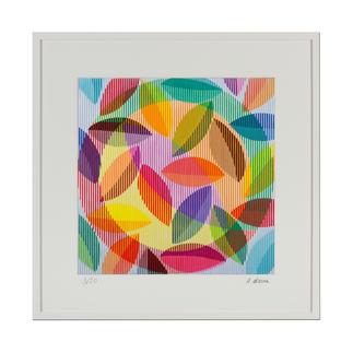 """Antonio Marra: """"Wilde Lust am Leben"""" Ein Werk, das aus jeder Perspektive anders erscheint. Dank hoch entwickelter Reproduktionstechnik wird die Dreidimensionalität des Originals 1:1 wiedergegeben. 20 Exemplare."""