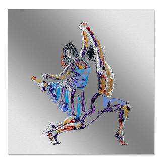 Paul La Poutré – Let´s do it Paul La Poutré: Unikatserie –100 % von Hand auf Edelstahl  gemalt. 24 Exemplare. Exklusiv bei Pro-Idee. Masse: 100 x 100 cm