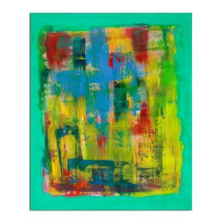 Mikail Akar – Welle Mikail Akar: Erst 7 Jahre alt – schon 4-stellige Verkaufspreise. Deutschlands jüngster Abstraktkünstler mit seiner ersten Edition seiner gefragten gespachtelten Werke. Masse: 90 x 110 cm