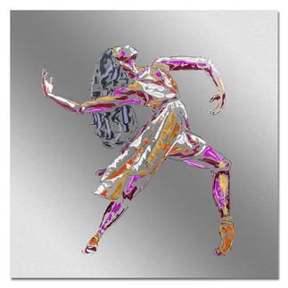 Paul La Poutré – Love to Dance Paul La Poutré:  Unikatserie – 100 % von Hand auf Edelstahl gemalt. (Die erste war nach wenigen Tagen ausverkauft.) 24 Exemplare. Exklusiv bei Pro-Idee. Masse: 100 x 100 cm