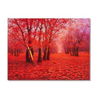 Pei Lian Zhi – Red Forest Pei Lian Zhi: In mehr als 200 Sammlungen vertreten.Neueste Edition – partiell von Hand übermalt. 40 Exemplare. Masse: 120 x 90 cm