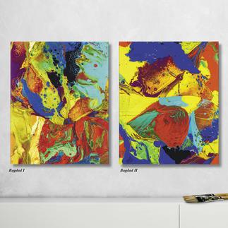 """Gerhard Richter – Bagdad I + II Gerhard Richter: Noch je 3 Exemplare der Editionen """"Bagdad I + II"""". Masse: 40 x 50 cm"""