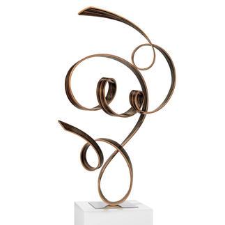 Jacinto Moros – FTK, 2020 Einzigartig: Jacinto Moros puristisch-virtuose Holzskulptur. 100 % Handarbeit. Erste Unikatserie des renommierten Künstlers. Masse: 45 x 70 x 33 cm