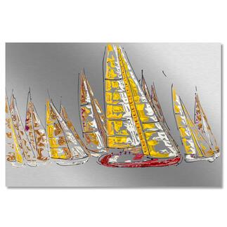 Paul La Poutré – Sailing together Paul La Poutré:Neueste Unikatserie – 100 % von Hand auf Edelstahl gemalt. (Seine ersten waren nach wenigen Tagen ausverkauft.) 24 Exemplare. Exklusiv bei Pro-Idee. Masse: 120 x 80 cm