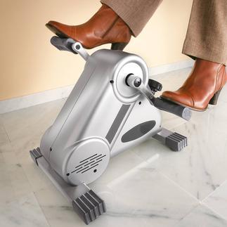 Pedaltrainer Leiser und gleichmässiger: Pedaltrainer mit patentiertem Magnetbremssystem. Für Beine und Arme.