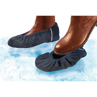 Anti-Rutsch-Überzieher, 2 Paar Für jeden Schuh: Wirksamer Schutz vor üblen Verletzungen bei Eis, Schnee und Nässe.