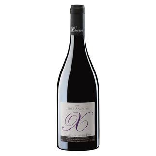 """Châteauneuf """"Cuvée Anonyme"""" 2009, Xavier, Châteauneuf du Pape, Rhône, Frankreich """"… sensationell (…) hervorragend (...) verlockend.  96 Punkte."""" (Robert Parker, Wine Advocate 197, 10/2011)"""