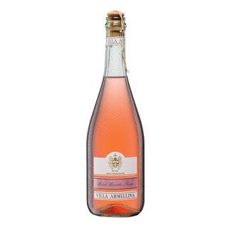 Vino Frizzante Rosè, Villa Armellina,  Italien Nur 10,5 % Alkohol – aber 100 % Genuss.