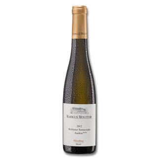 Wehlener Sonnenuhr Auslese *** 2012, 0,375 l, Weingut Markus Molitor, Mosel, Deutschland 100 Punkte für den Jahrgang 2011.* 100 Punkte für den Jahrgang 2013.** Und noch keine Bewertung für diesen Jahrgang 2012. (*Wine Advocate 206, 04/2013, **Wine Advocate 217, 02/2015)