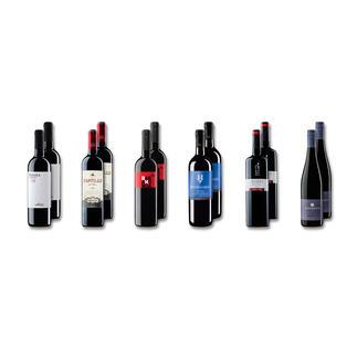 """Probierpaket """"Rotweine bis 7 € Frühjahr 2016"""", 12 Flaschen Probierpaket Rotweine, 12 Flaschen"""