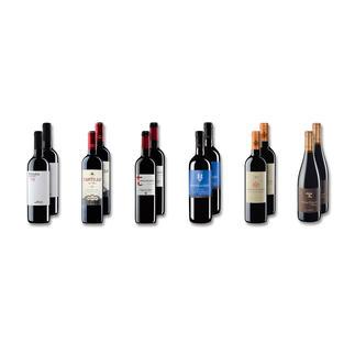 Probierpaket Rotweine bis 11 Fr. Frühjahr/Sommer 2016, 12 Flaschen Probierpaket Rotweine, 12 Flaschen