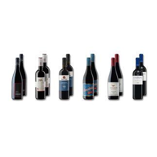 Probierpaket Rotweine bis 15 Fr. Frühjahr/Sommer 2016, 12 Flaschen Probierpaket Rotweine, 12 Flaschen