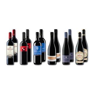 """Probierpaket """"Rotweine bis 11 Fr. Sommer 2016"""", 12 Flaschen Probierpaket Rotweine, 12 Flaschen"""