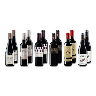 """Probierpaket """"Rotweine bis 15 Fr. Sommer 2016"""", 12 Flaschen Probierpaket Rotweine, 12 Flaschen"""