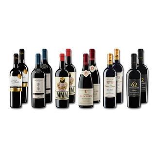 """Probierpaket """"Rotweine bis 28 Fr. Sommer 2016"""", 12 Flaschen Probierpaket Rotweine, 12 Flaschen"""