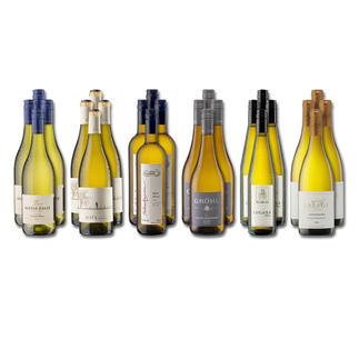 """Weinsammlung """"Die kleine Weisswein-Sammlung Sommer 2016"""", 24 Flaschen Wenn Sie einen kleinen, gut gewählten Weinvorrat anlegen möchten, ist dies jetzt besonders leicht."""