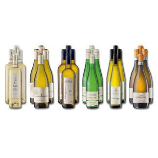 """Weinsammlung """"Die kleine Weisswein-Sammlung Herbst 2016"""", 24 Flaschen Wenn Sie einen kleinen, gut gewählten Weinvorrat anlegen möchten, ist dies jetzt besonders leicht."""