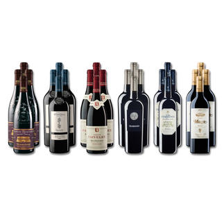 """Weinsammlung """"Die kleine Rotwein-Sammlung für anspruchsvolle Geniesser Herbst 2016"""", 24 Flaschen Wenn Sie einen kleinen, gut gewählten Weinvorrat anlegen möchten, ist dies jetzt besonders leicht."""