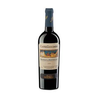 Brunello Giocondo 2010, Marchesi de Frescobaldi, Toskana, Italien 98 Punkte im Wine Spectator. 98 Punkte von Robert Parker. 97 Punkte von James Suckling. (www.winespectator.com, www.robertparker.com,  www.jamessuckling.com)