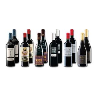 """Weinsammlung """"Die kleine Rotwein-Sammlung"""", 12 Flaschen Wenn Sie einen kleinen, gut gewählten Rotweinvorrat anlegen möchten, ist dies jetzt besonders leicht."""