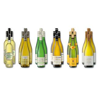 """Weinsammlung """"Die kleine Weisswein-Sammlung Winter 2016"""", 24 Flaschen Wenn Sie einen kleinen, gut gewählten Weinvorrat anlegen möchten, ist dies jetzt besonders leicht."""