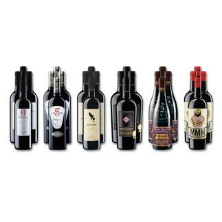 """Weinsammlung """"Die kleine Rotwein-Sammlung Winter 2016"""", 24 Flaschen Wenn Sie einen kleinen, gut gewählten Weinvorrat anlegen möchten, ist dies jetzt besonders leicht."""
