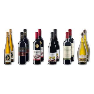 """Testpaket """"Neuzugänge Winter 2016"""" 12 Flaschen à 0,75 l zum Einführungspreis. Nur bis zum 30.09.2016."""