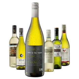 """Testpaket der Nominierten """"Übersee-Sauvignon Blanc bis 16 Franken, Juni 2016"""" Pro-Idee Wine Competition"""