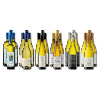 """Weinsammlung """"Die kleine Weisswein-Sammlung Frühjahr 2017"""", 24 Flaschen Wenn Sie einen kleinen, gut gewählten Weinvorrat anlegen möchten, ist dies jetzt besonders leicht."""