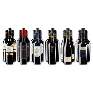 """Weinsammlung """"Die kleine Rotwein-Sammlung für anspruchsvolle Geniesser Frühjahr 2017"""", 24 Flaschen Wenn Sie einen kleinen, gut gewählten Weinvorrat anlegen möchten, ist dies jetzt besonders leicht."""
