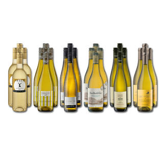 """Weinsammlung """"Die kleine Weisswein-Sammlung Sommer 2017"""", 24 Flaschen Wenn Sie einen kleinen, gut gewählten Weinvorrat anlegen möchten, ist dies jetzt besonders leicht."""