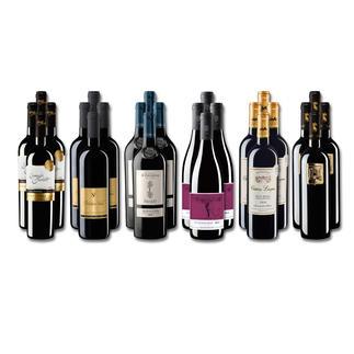 """Weinsammlung """"Die kleine Rotwein-Sammlung für anspruchsvolle Geniesser Sommer 2017"""", 24 Flaschen Wenn Sie einen kleinen, gut gewählten Weinvorrat anlegen möchten, ist dies jetzt besonders leicht."""