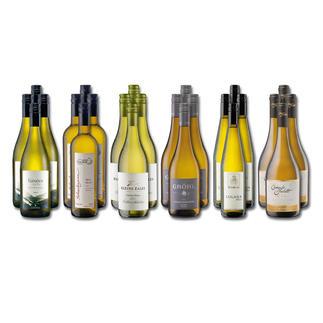 """Weinsammlung """"Die kleine Weisswein-Sammlung Winter 2017"""", 24 Flaschen Wenn Sie einen kleinen, gut gewählten Weinvorrat anlegen möchten, ist dies jetzt besonders leicht."""